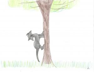 Boris Climbs A Tree