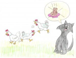 Will Boris Eat the Chickens?