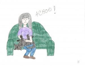 Amanda Is Allergic to Cats