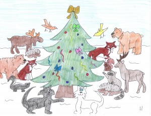 The Animals Christmas Tree