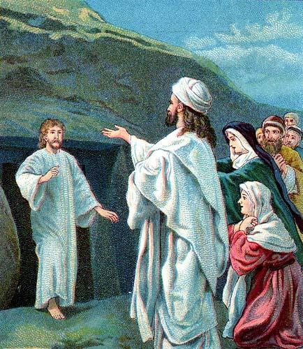 Jesus Raises Lazarus from the Dead  October 17 2018 on